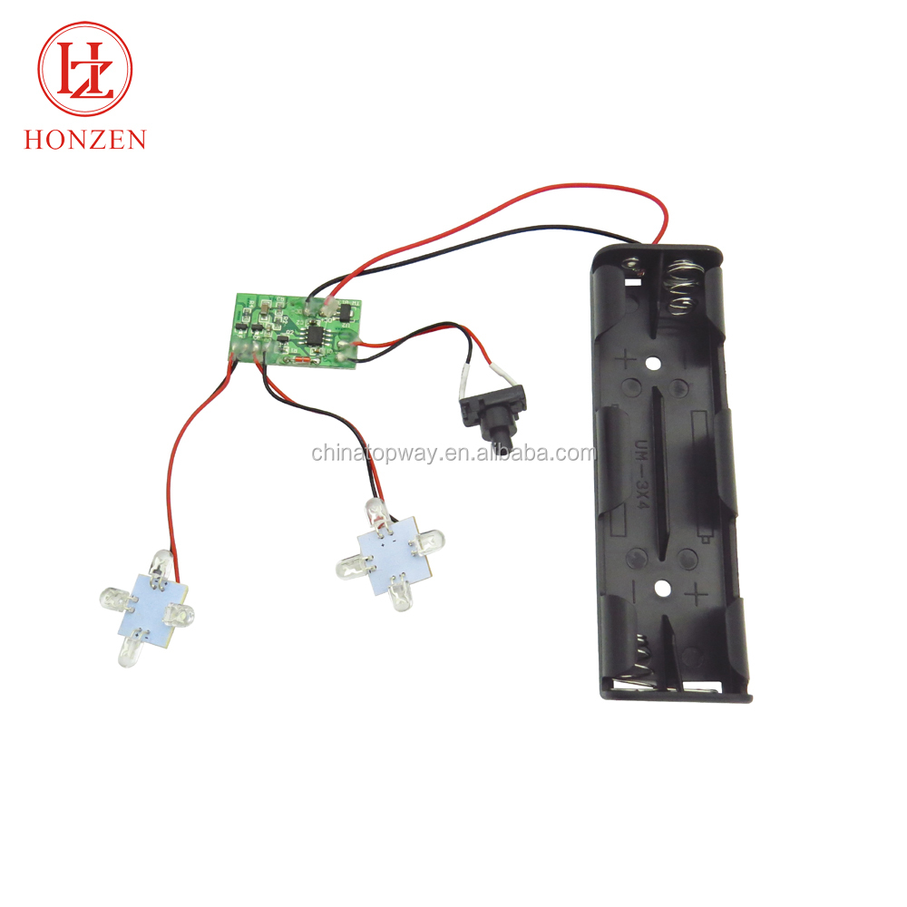 Standard Bonding Ic 5mm White Chasing Pop Led Module Light With Good Strobe Circuit Flashing Effects Electronic After Sale Service