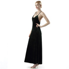 Deep V Neck Spaghetti Strap Casual Maxi Rayon Fashion Fancy Dress Wholesale