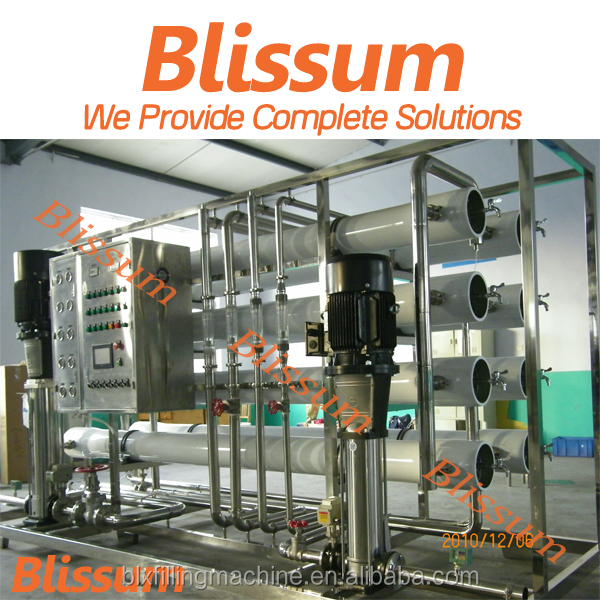 Automatic Hot sale water purifier machine price 1000 lph ro water tank ( reverse osmosis )from Blissum