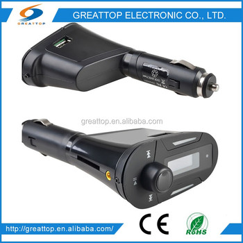 China Supplier High Quality 2016 Utility Car Fm Transmitter With Line Out Function