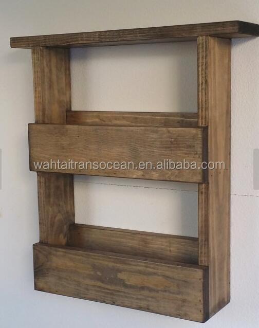 Vertical Wall Planter Box Pallet Style & Crystal Display Shelf | Succulent Wall Planter Box | Vertical Garden Planter