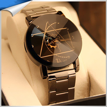 Fashionable vogue water resistant private label watches for christmas promotional