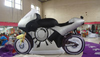 2014 hot sale replicas inflatable motorcycle for promotional