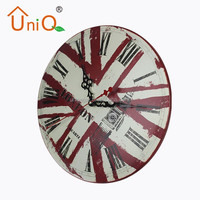 "M1202 12"" England old style wall clock made in China"