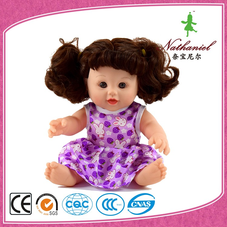 12 inch custom plastic child size baby doll in bulk manufacturers china
