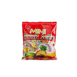 Candy wholesale brand name of spice organic young thai coconut gummy candy juice powder jello shot jelly with fruit cup