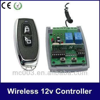 12/24v Universal electrical remote controller switch 402PC