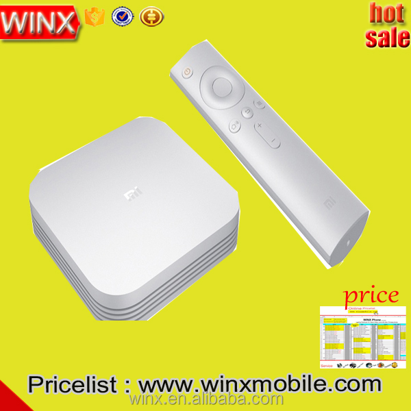 Wholesale! Original XIAOMI Mi TV BOX 3 Enhanced 4K MT8693 2-core -A72 +4-core Android alibaba express