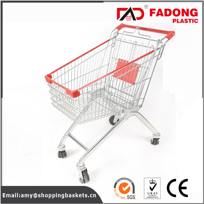 coin operated metal mall shopping trolley locks