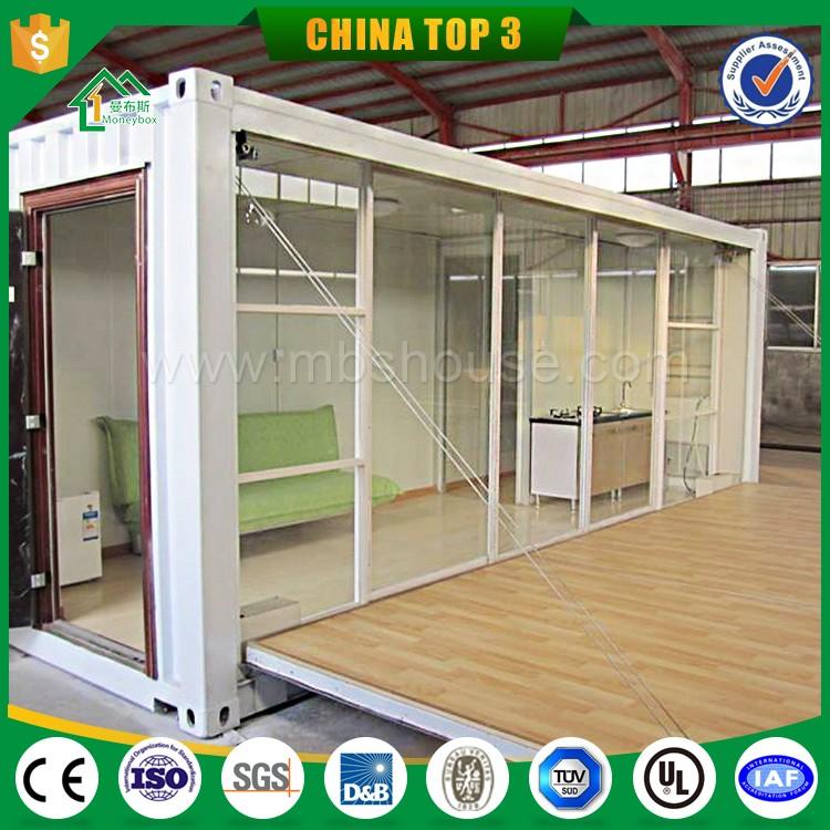 Moderne conteneur pr fabriqu bureau vente en france eco mobile pr fabriqu e maison conteneur for Maison mobile prefabriquee prix