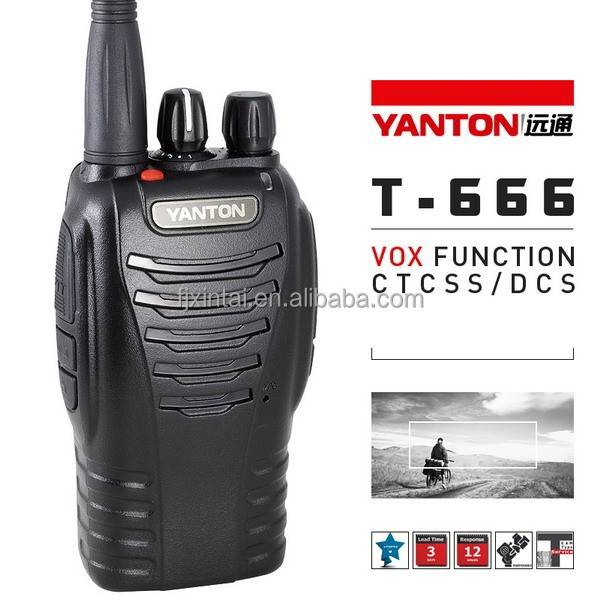 2 way radio programming software(YANTON T-666)