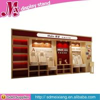 wooden perfume display rack, MX6962 cell phone charger display case