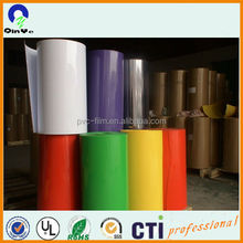 0.87mm Colorful Opaque Rigid PVC Sheets for Thermoforming