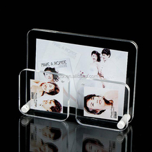 square acrylic boat shape picture frame