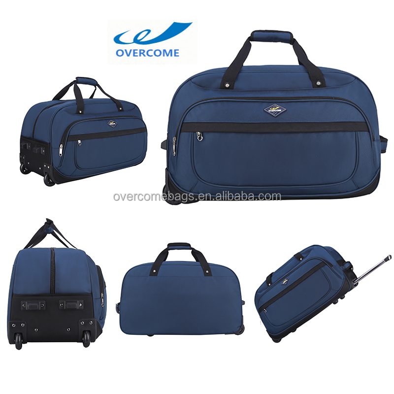Factory wholesale travel bag trolley luggage 2 wheels travel laptop trolley bag
