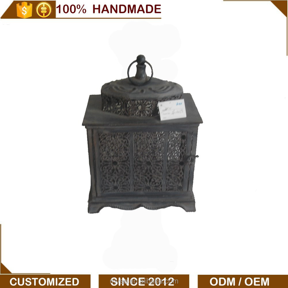 2016 Customized Antique Moroccan Metal Lanterns