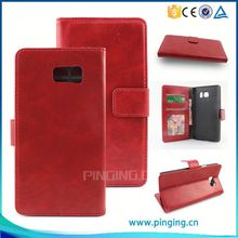 Newest fashion wallet case leather cover for nokia Asha 502