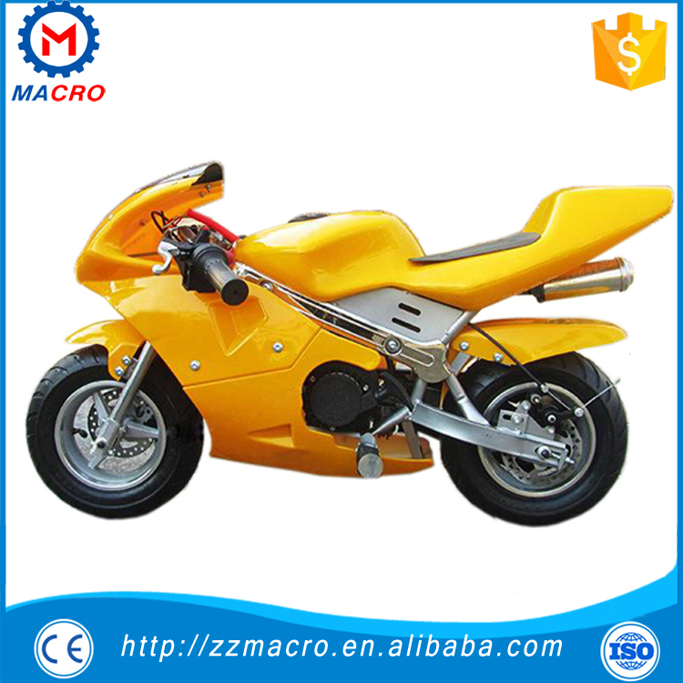 Green Color Cheapest 49cc Kids Motorcycle