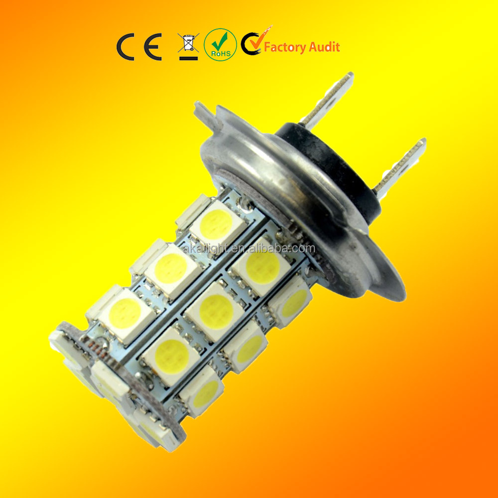 H4 H7 27SMD 5050 Auto car Led bulb light