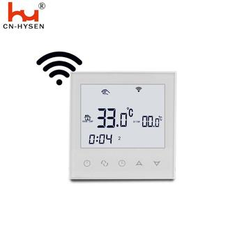 Wifi Room Digital Touch Screen Radiant Floor Heating Thermostat