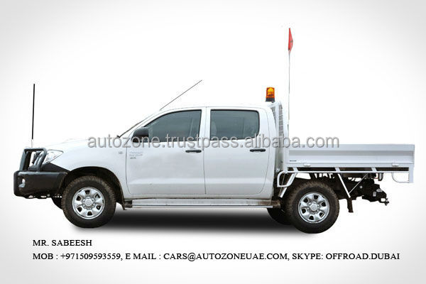 TOYOTA HILUX 4X4 MINING AND COMMERCIAL VEHICLE