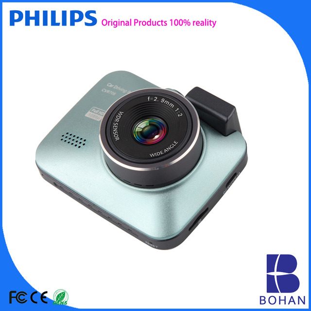 Philips Dash Camera Car Video Recorder with Gps Tracking systems