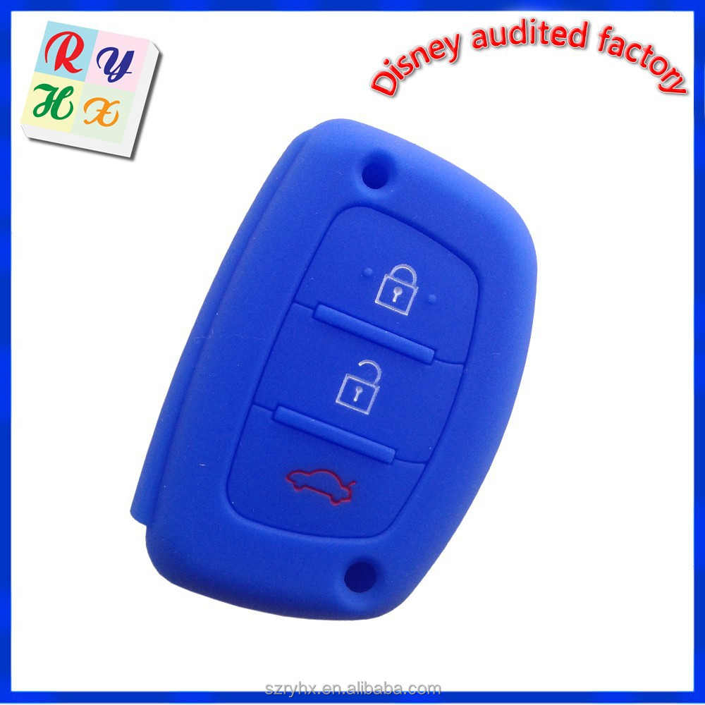 Hyundai Remote Key Case China Manufacture Silicone Car Key Case