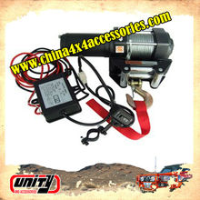 China 4x4 auto parts for Uaz/Yaz/Linda Niva 3500lbs mini 12v electric winch