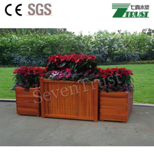 2017 WPC creative flower box, many shape styles,on time delivery