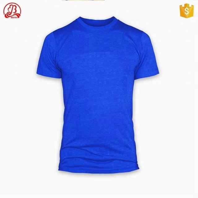 wholesale basic high quality promotional mens white plain design oversized tshirt