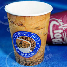 plant paper tubs / custom disposable paper cup / polystyrene paper cup coffee cup