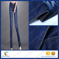 10.2OZ spandex slub jeans fabric wholesale