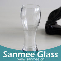 Tall And Thick Juice Drinking Glass Cheap Bar Long Beer Glass Cup