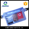 High quality transparent waterproof cell phone bag clear pvc dry bag with strap for swimming and camping