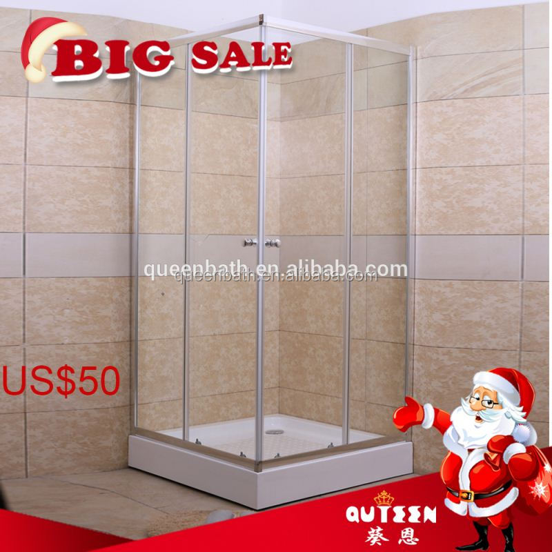 Wholesale clothing single person 1/4 round shower room