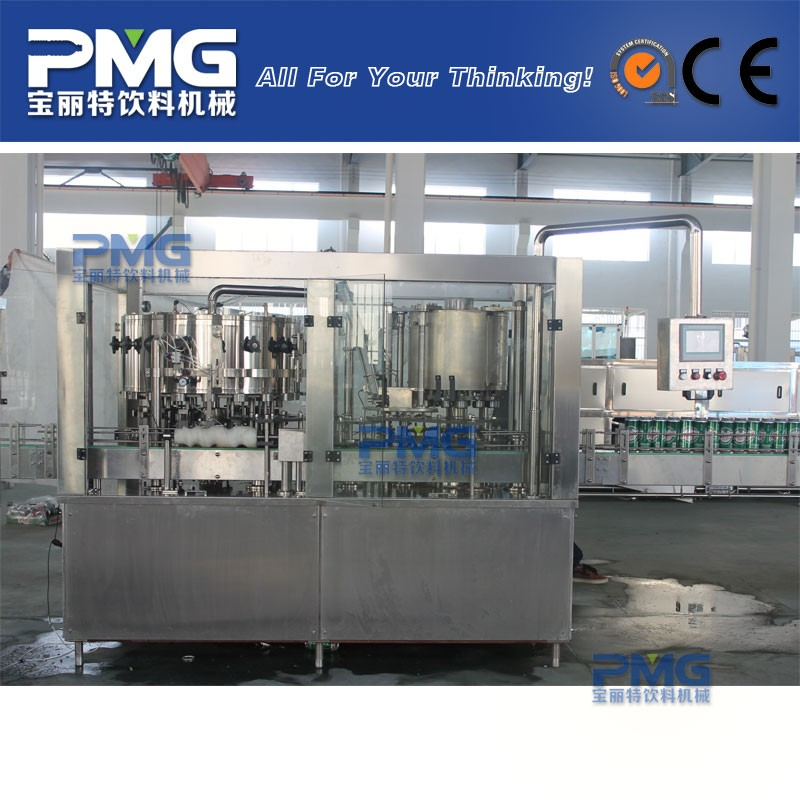 DGF18-6 beer canning filling equipment / machine