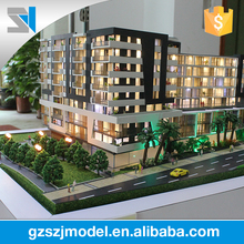 1/100 scale led lighting 3d modelling in architecture