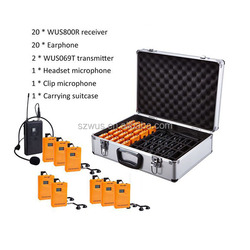 Tour Guide Accessories/translation equipment/Wireless Tour Guide System for Teaching/Train/Tourism