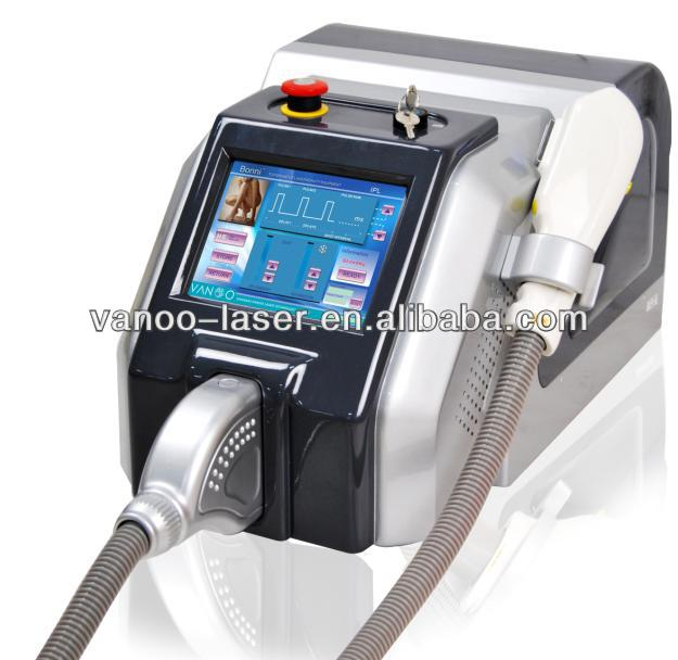 2013 newest high quality portable ipl/e-light/rf/laser beauty machine