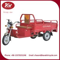 China suppliers sale high quantity electric cargo tricycle