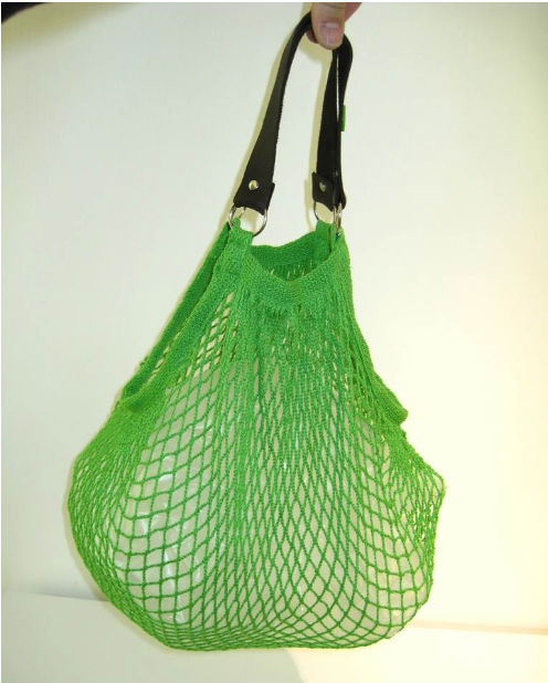 eco friendly cotton net shopping bags(WZ1957)