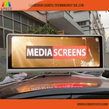 Shenzhen Manufacturer Car P5 Led Taxi Roof Top Advertising Sign For Sale