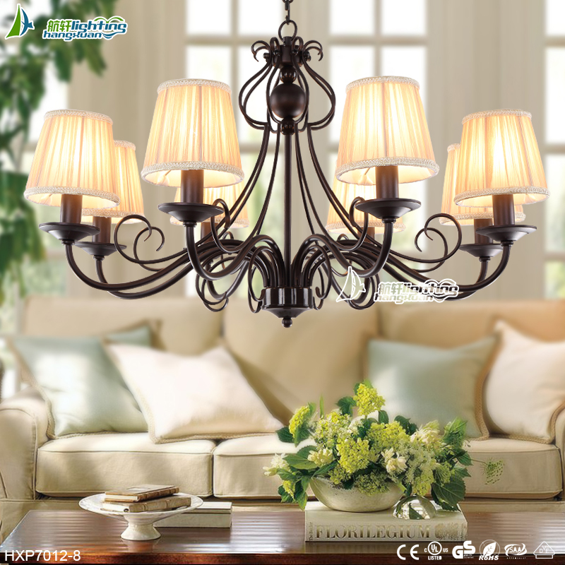 <strong>Modern</strong> and Fancy Iron livingroom Chandelier Pendant lamp for style#HXP7012-8
