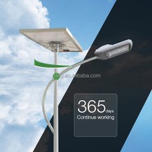High efficiency warm white solar powered 80W led street light system