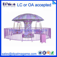 Amusement /Theme Swing Park Game Machine For Sale DP-008 Rose flying chair