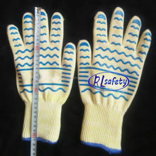 XXL SIZE 30 -35CM High Quality BBQ Grill Accessories Gloves for Barbecue Party