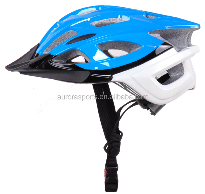 wholesae price in-mold cross country helmets with white bottom Dirt Bike Helmet