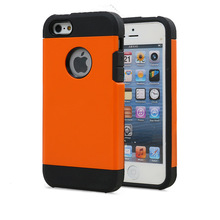 Factory Price 2 in 1 pc +tpu hybrid hard slim armor back hard cover for apple/iphone