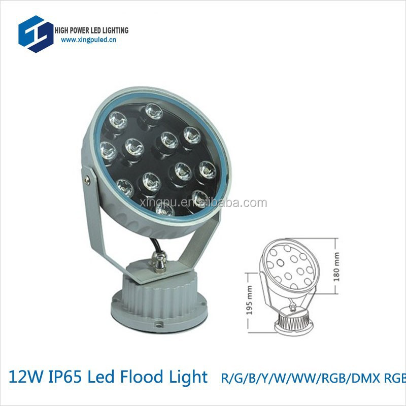 12w led warm white 230v ip65 led round floodlight 35 <strong>beam</strong>