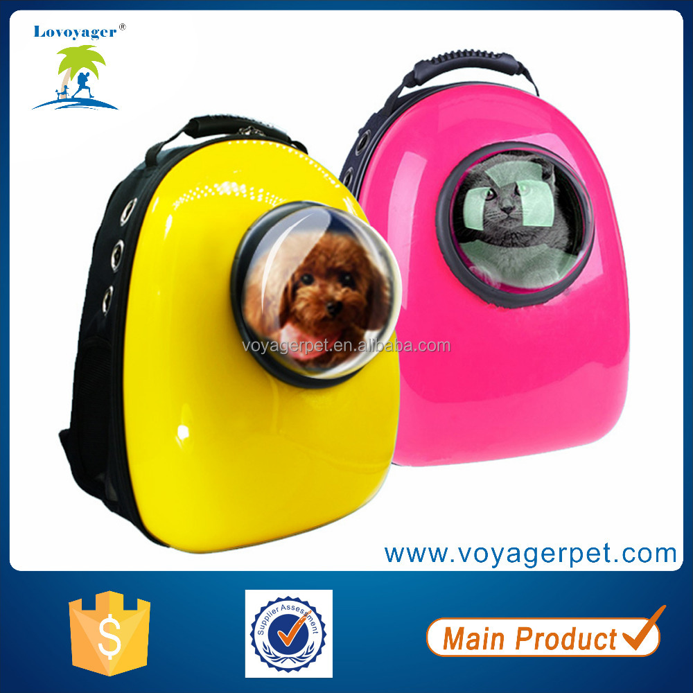 Lovoyager High Quality PC capsule pet backpack dog carrier whoelsesale